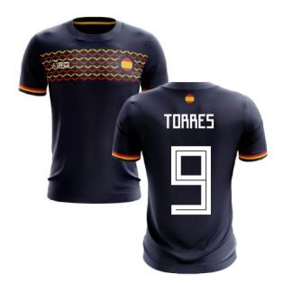 2020-2021 Spain Away Concept Football Shirt (Torres 9)