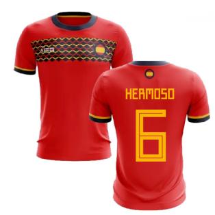 2019-2020 Spain Home Concept Football Shirt (Hermoso 6)