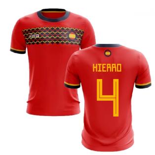 2019-2020 Spain Home Concept Football Shirt (Hierro 4)