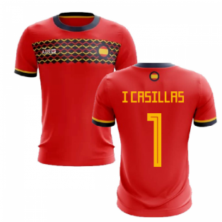 2019-2020 Spain Home Concept Football Shirt (I Casillas 1)