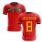 2020-2021 Spain Home Concept Football Shirt (Luis Enrique 8)