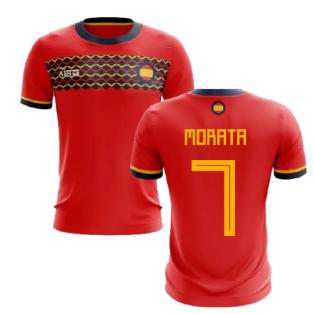 2019-2020 Spain Home Concept Football Shirt (Morata 7)
