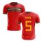 2020-2021 Spain Home Concept Football Shirt (Puyol 5)