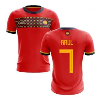 2019-2020 Spain Home Concept Football Shirt (Raul 7)