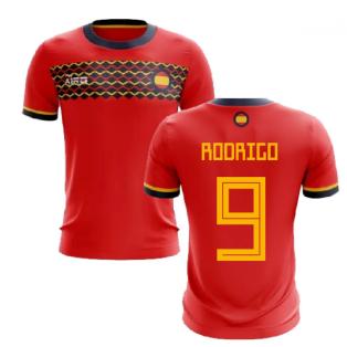 2019-2020 Spain Home Concept Football Shirt (Rodrigo 9)