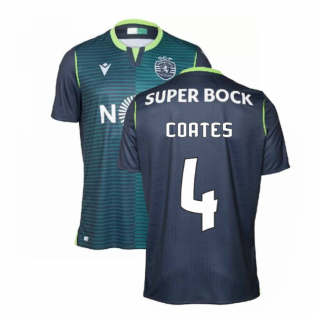 2019-2020 Sporting Lisbon Authentic Away Match Shirt (Coates 4)