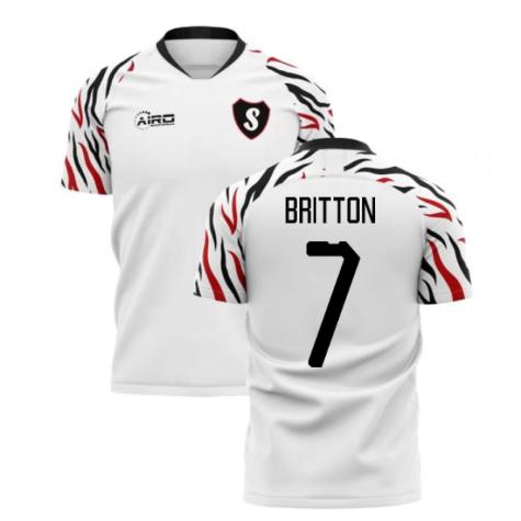 2019-2020 Swansea Home Concept Football Shirt (Britton 7)