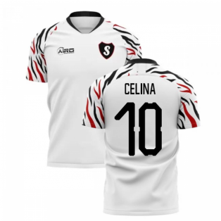 2019-2020 Swansea Home Concept Football Shirt (Celina 10)