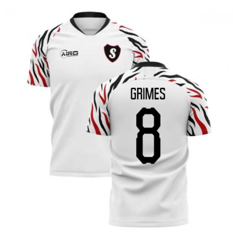 2019-2020 Swansea Home Concept Football Shirt (Grimes 8)