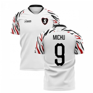 2019-2020 Swansea Home Concept Football Shirt (Michu 9)