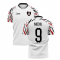 2020-2021 Swansea Home Concept Football Shirt (Michu 9)