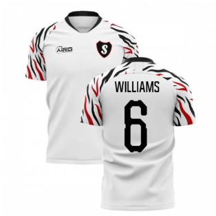 2019-2020 Swansea Home Concept Football Shirt (Williams 6)