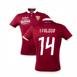 2019-2020 Torino Joma Home Football Shirt (I FALQUE 14)
