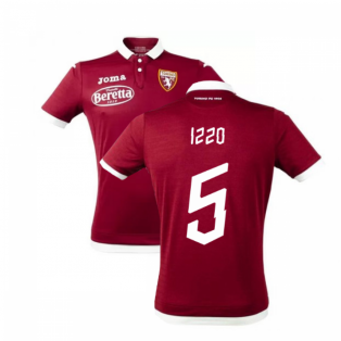 2019-2020 Torino Joma Home Football Shirt (IZZO 5)
