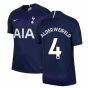 2019-2020 Tottenham Away Nike Football Shirt (Kids) (ALDERWEIRELD 4)