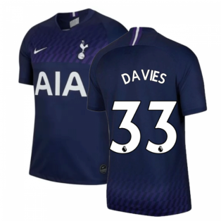 2019-2020 Tottenham Away Nike Football Shirt (Kids) (DAVIES 33)