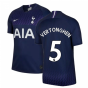 2019-2020 Tottenham Away Nike Football Shirt (Kids) (VERTONGHEN 5)