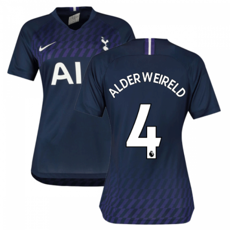 2019-2020 Tottenham Away Nike Ladies Shirt (ALDERWEIRELD 4)