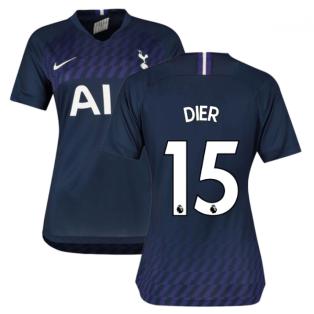 2019-2020 Tottenham Away Nike Ladies Shirt (DIER 15)