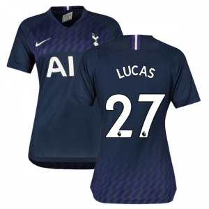 2019-2020 Tottenham Away Nike Ladies Shirt (LUCAS 27)