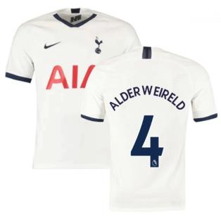 2019-2020 Tottenham Home Nike Football Shirt (Kids) (ALDERWEIRELD 4)