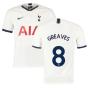 2019-2020 Tottenham Home Nike Football Shirt (Kids) (GREAVES 8)