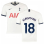 2019-2020 Tottenham Home Nike Football Shirt (Kids) (KLINSMANN 18)