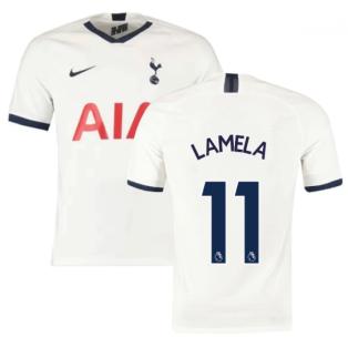 2019-2020 Tottenham Home Nike Football Shirt (Kids) (LAMELA 11)