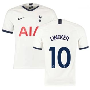 2019-2020 Tottenham Home Nike Football Shirt (Kids) (LINEKER 10)