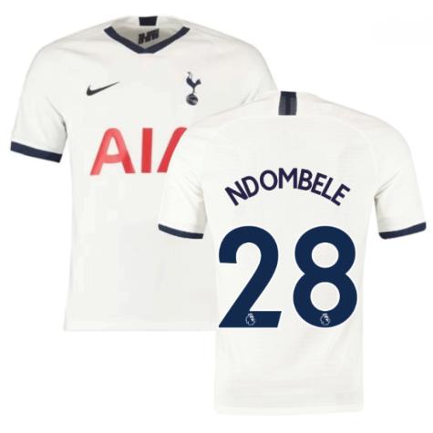 2019-2020 Tottenham Home Nike Football Shirt (Kids) (Ndombele 28)