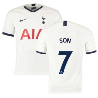 2019-2020 Tottenham Home Nike Football Shirt (Kids) (SON 7)