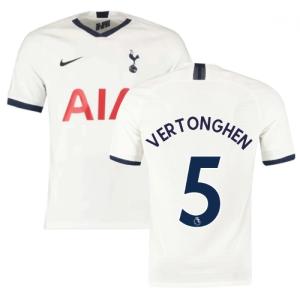 2019-2020 Tottenham Home Nike Football Shirt (Kids) (VERTONGHEN 5)