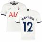 2019-2020 Tottenham Home Nike Football Shirt (Kids) (WANYAMA 12)