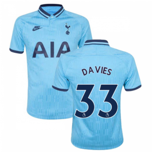 2019-2020 Tottenham Third Shirt (Kids) (DAVIES 33)