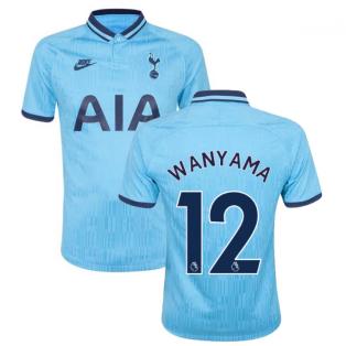 2019-2020 Tottenham Third Shirt (Kids) (WANYAMA 12)