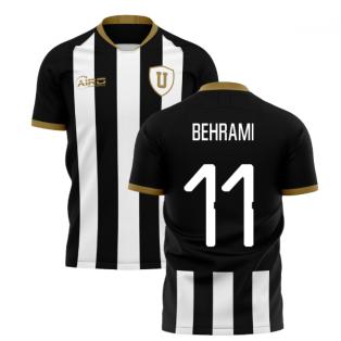 2019-2020 Udinese Home Concept Shirt (BEHRAMI 11)
