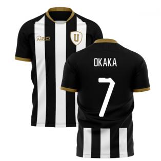 2019-2020 Udinese Home Concept Shirt (OKAKA 7)