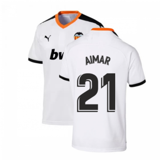 2019-2020 Valencia Home Puma Shirt (Kids) (AIMAR 21)