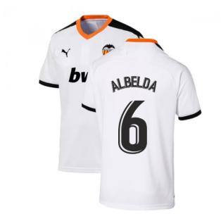 2019-2020 Valencia Home Puma Shirt (Kids) (ALBELDA 6)