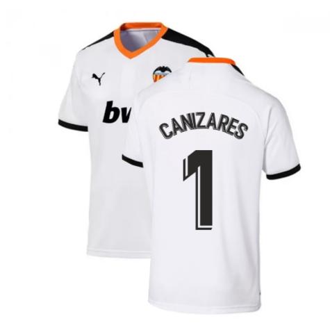 2019-2020 Valencia Home Puma Shirt (Kids) (CANIZARES 1)