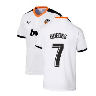 2019-2020 Valencia Home Puma Shirt (Kids) (GUEDES 7)