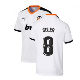 2019-2020 Valencia Home Puma Shirt (Kids) (SOLER 8)