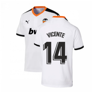 2019-2020 Valencia Home Puma Shirt (Kids) (VICENTE 14)