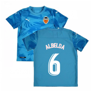 2019-2020 Valencia Third Shirt (Kids (ALBELDA 6)