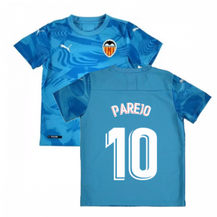 2019-2020 Valencia Third Shirt (Kids (PAREJO 10)