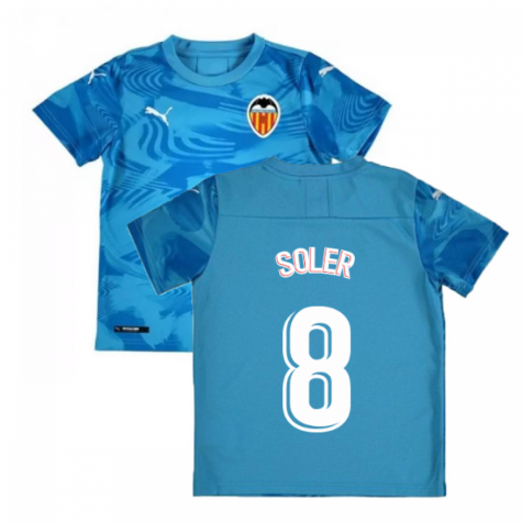 2019-2020 Valencia Third Shirt (Kids (SOLER 8)