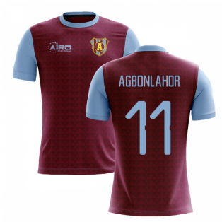 2020-2021 Villa Home Concept Football Shirt (Agbonlahor 11)