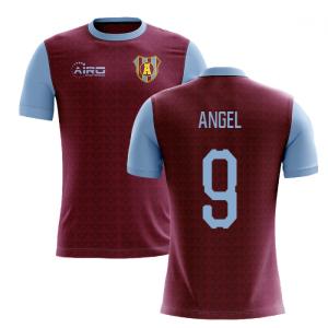 2020-2021 Villa Home Concept Football Shirt (Angel 9)