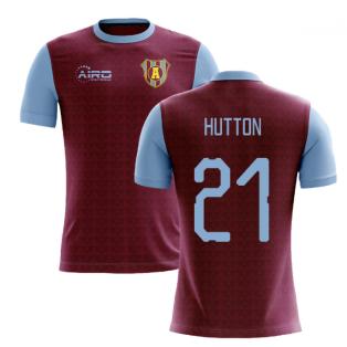 2019-2020 Villa Home Concept Football Shirt (Hutton 21)