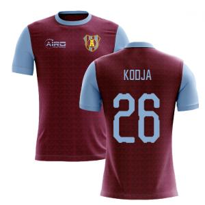 2020-2021 Villa Home Concept Football Shirt (Kodja 26)